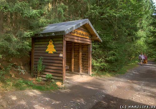 Oberer Schalker Graben - Schutzhütte